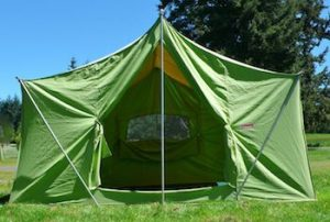 Vintage Camping Tent Coleman American Heritage Tent