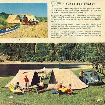 Vintage Camping Gear