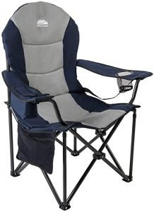 lumbar support camping chair