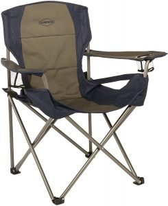 lumbar support camp chair